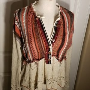 fc5995850 Free People Sweaters - Free People Meadow Lakes Sweater